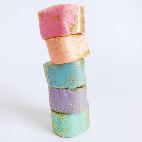 unicorn colourful dough for baking