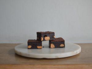 Peanut butter brownie (gluten free)