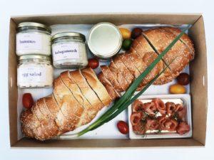 Challah gift box