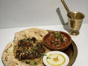 Bedouin Mansaf dinner for 2