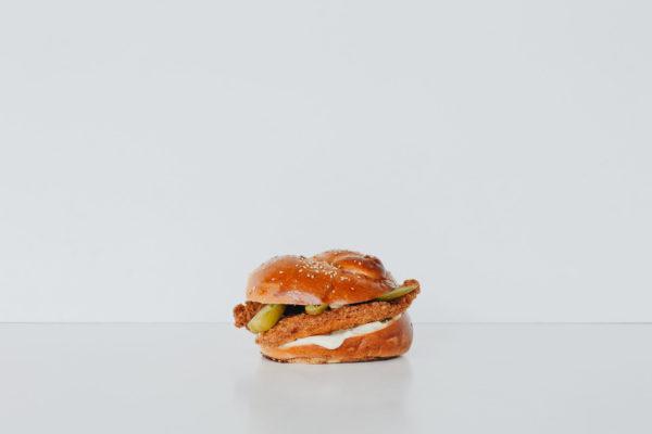 Chicken Schnitzel Burger Boosa