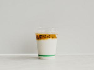 Mini yoghurt cups